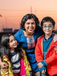 savita, india, vrouw, lume