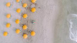 Zomer, strand, yellow