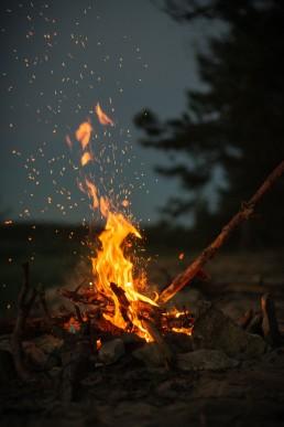 Pinkstervuur, vuur, God, lume