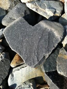 steen, hart, liefde