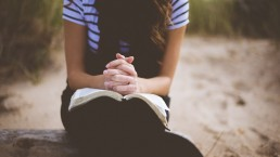bidden, vrouw, Lume, Bijbel