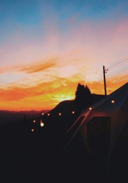 Tent, licht, Lume