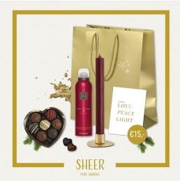 SHEER, giftbox, lichtpuntje