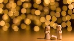 kerst, lume, licht
