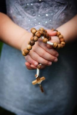 bidden, gebed, vrouw, Lume,