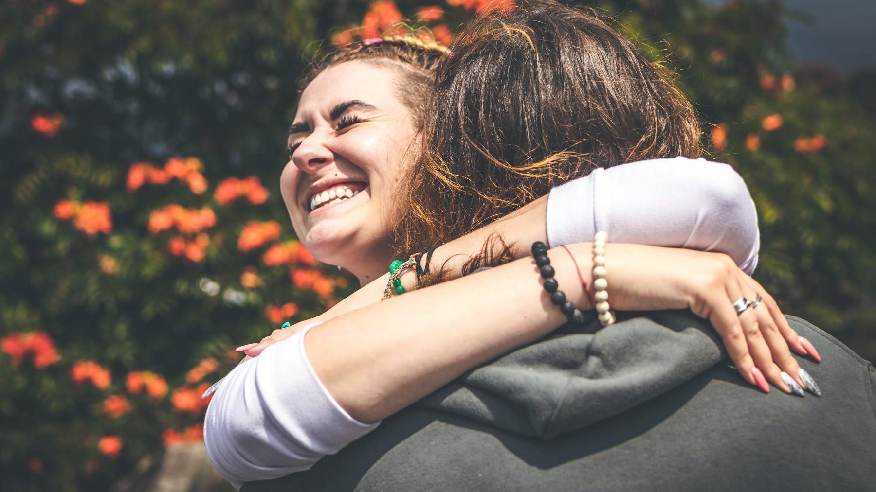 hug, women, Lume