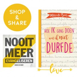 Boek, Mira, Lume, Shop en Share