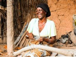 African, woman, Lume
