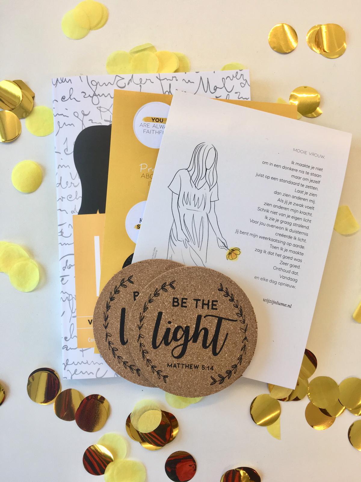 Moederdag, Share the light pakket, cadeau