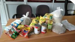 voedselpakket, corona, diodre