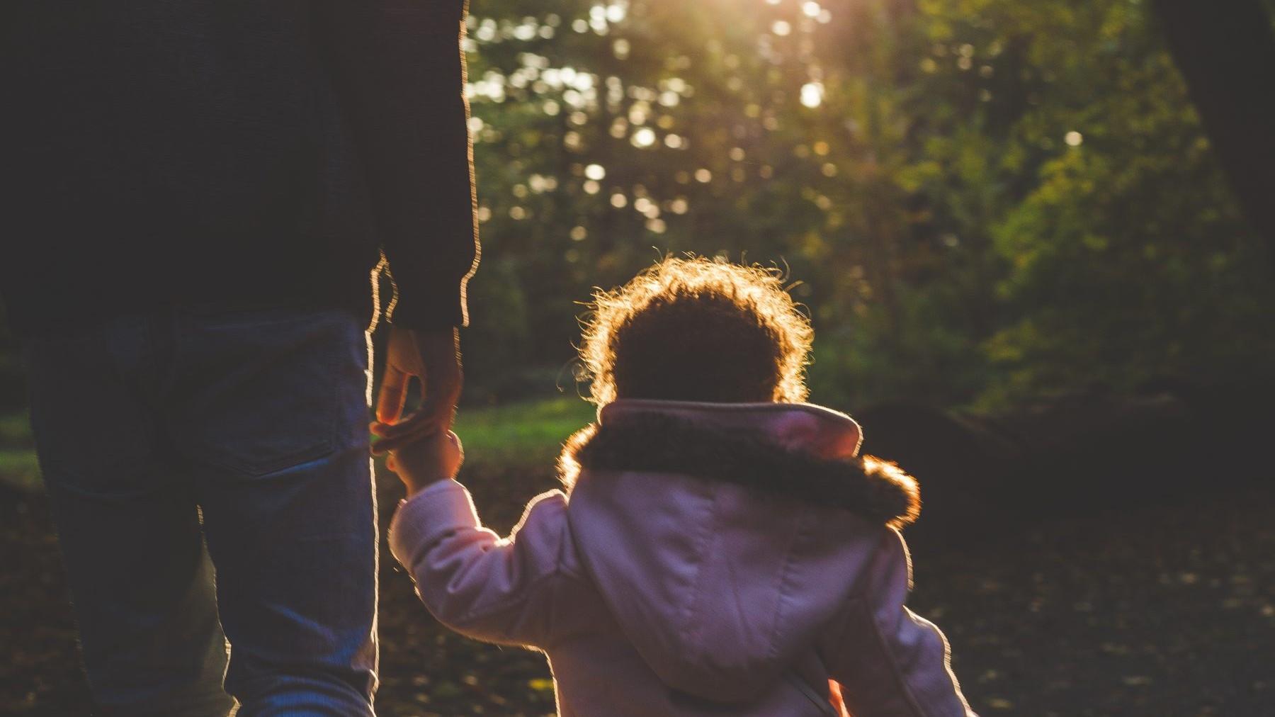 child, trust, lume, woman