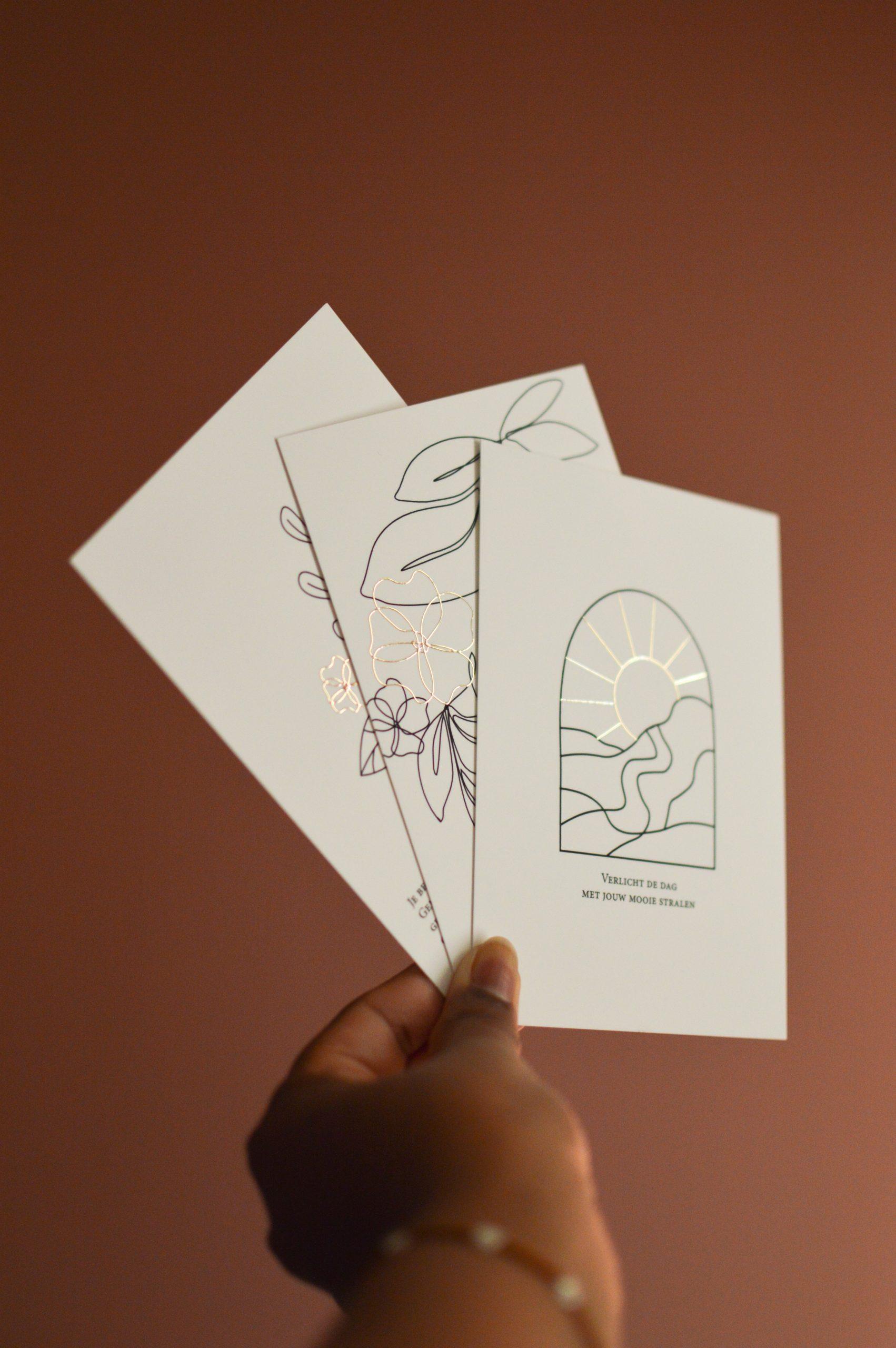 encourage, Kaartenset, kaarten