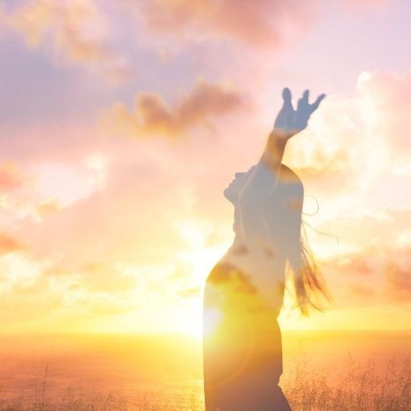 vrijheid, lume, licht, vrouw